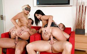 Huge Ass Group Sex Pics